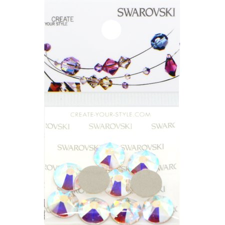 Swarovski 2088 Rhinestones FlatBack 40ss Crystal AB 10 pcs