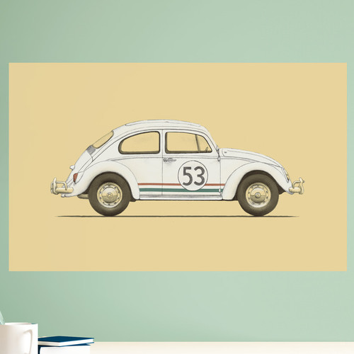 My Wonderful Walls Herbie the Love Bug Wall Decal
