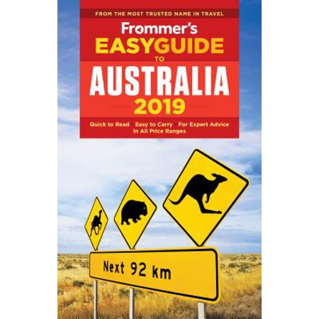 Frommer's Australia 2019 (Outline Map Of Oceania Australia And New Zealand)