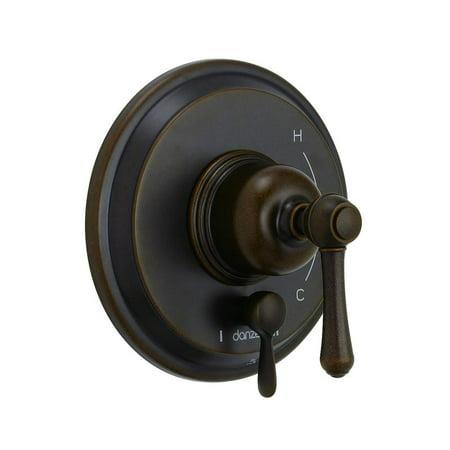 Danze D500457BRTC Opulence One-Handle Pressure Balance Valve-Only Trim and Treysta Cartridge, Tumbled Bronze