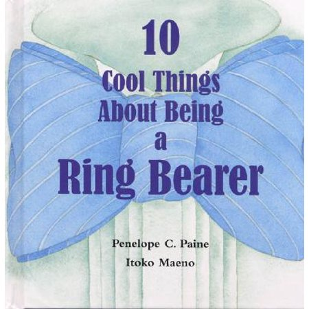 10 Cool Things about Being a Ring Bearer (Hardcover) - Ring Bearer Gift