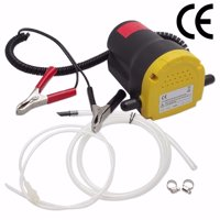 Ktaxon 12V 5A Oil Diesel Fuel Fluid Extractor, Electric Transfer Scavenge Suction Pump, w/ Tubes, for Auto Car Boat Motorbike Truck RV ATV Jet