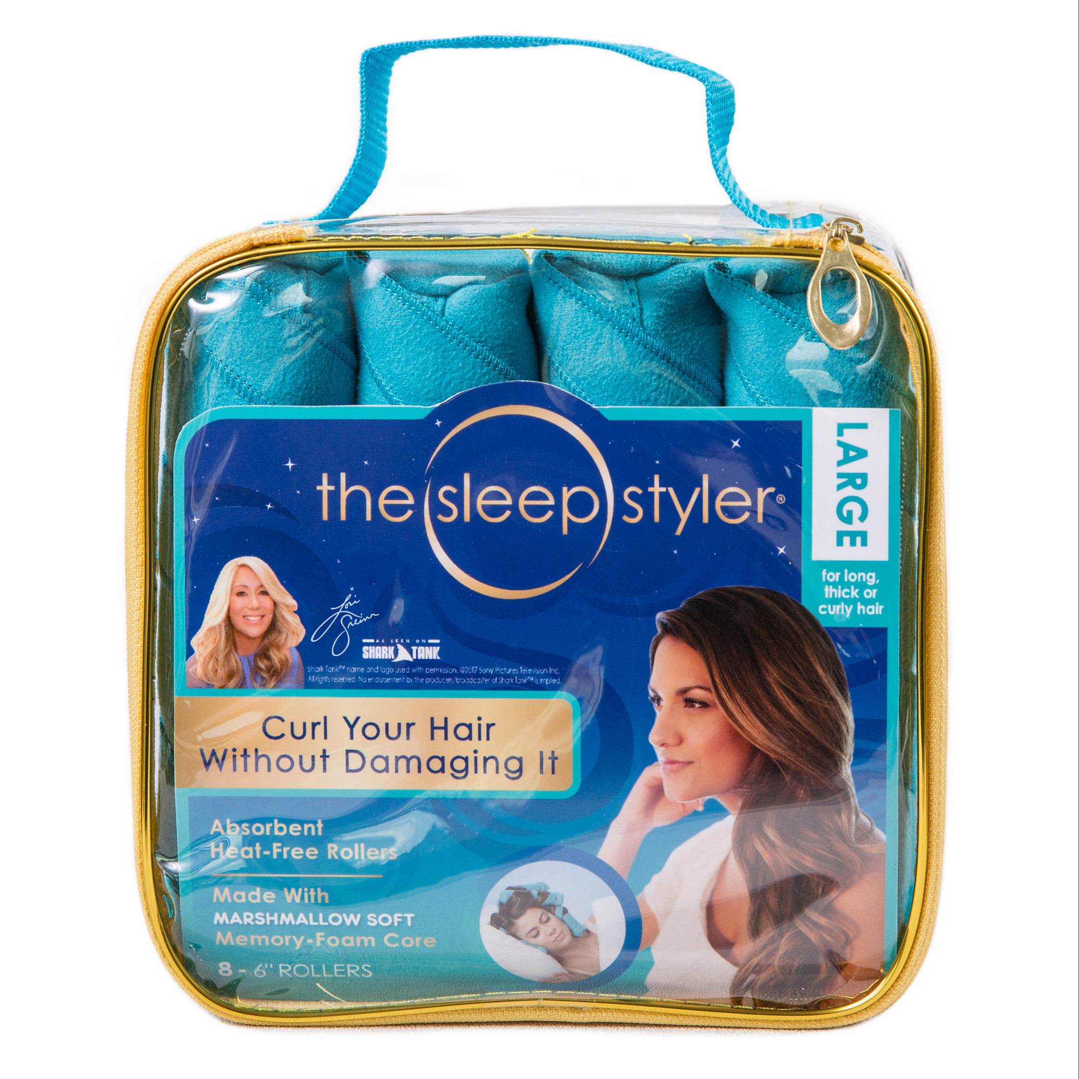 As Seen on TV Sleep Styler Hair Curlers, Choose your Size - Walmart.com