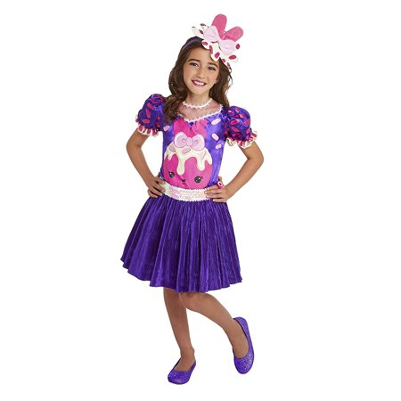 Palamon Num Noms Raspberry Cream Deluxe Girls Costume Small (4 - - Om Nom Costume
