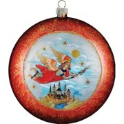 GDeBrekht 751-032 Limited Edition Guardian Angel Glass Ornament