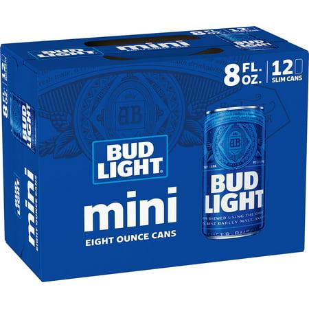 Bud Light® Minis Beer, 12 pack 8 fl  oz  Cans - Walmart com