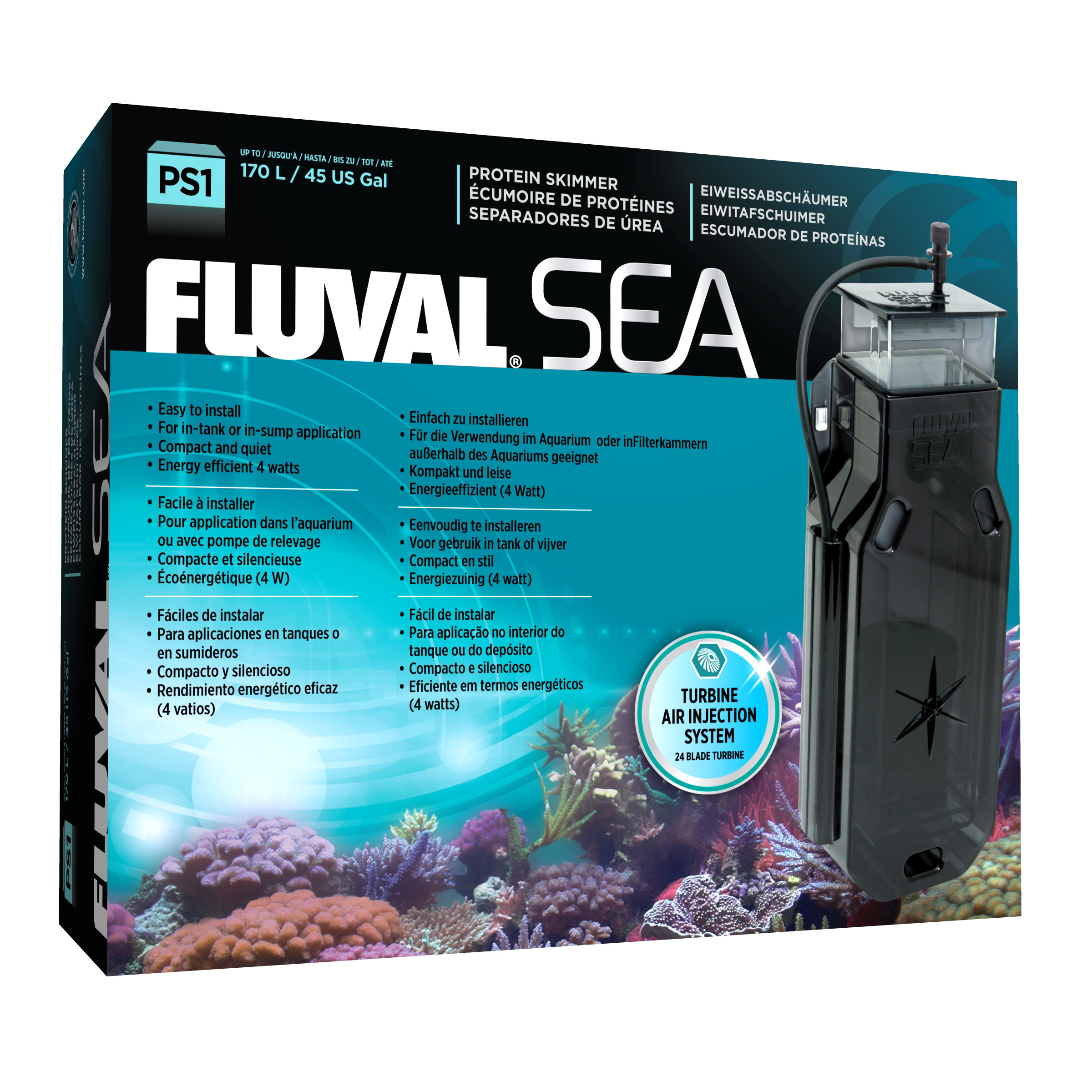Fluval Sea PS 1 Protein Skimmer