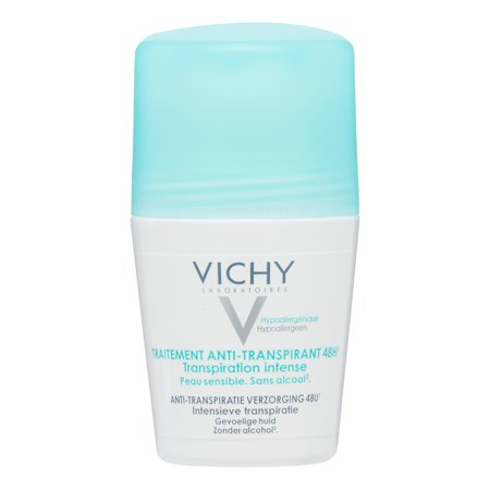 Vichy 48H Intensive Anti-perspirant Deodorant Roll-on for Women, 1.69 Oz