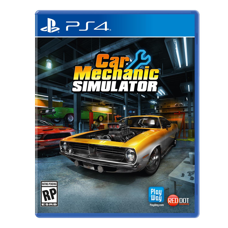 Car Mechanic Simulator, Maximum Games, PlayStation 4, 816819015032