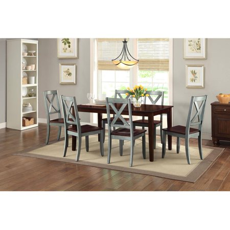 Better Homes And Gardens Maddox Crossing Dining Chair Blue Set Of 2 Best Buy Dining Chairs