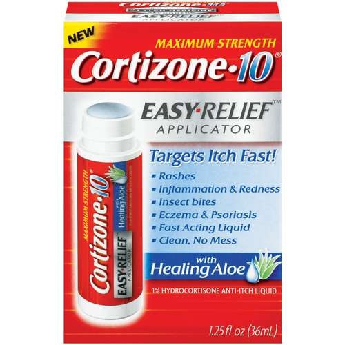 Cortizone Maximum Strength Anti-Itch Liquid With Healing Aloe, 1.25 fl oz