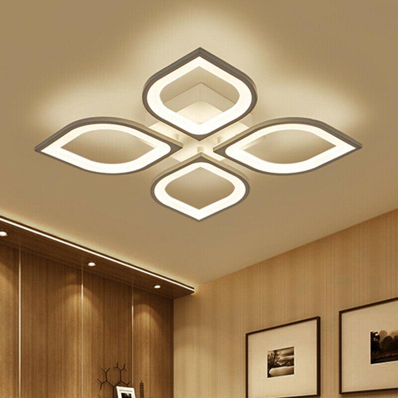Modern Led Ceiling Light Contemporary, Modern Led Chandeliers For Bedroom