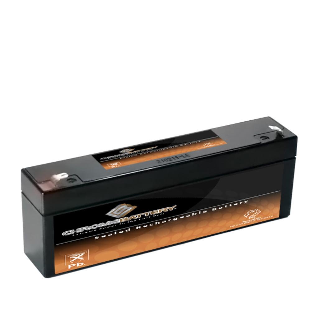 12V 2.2AH Sealed Lead Acid (SLA) Battery for Toy Car Play Mobile