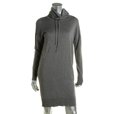 Sheath Suit - Lauren Ralph Lauren Womens Funnel-Neck Long Sleeve Sweaterdress