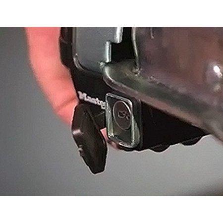 Master Lock Trailer Lock Trailer Coupler & Receiver Lock Combo Pack 3794DAT - image 3 of 3