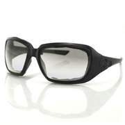 SCARLET SUNGLASS, BLK FRAME, ANTI-FOG CLEAR, FOAM