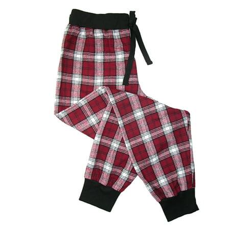 Boxercraft Women's Flannel Jogger Pajama Pants