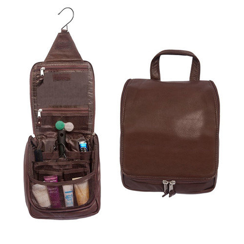 Canyon Outback Leather Bryercliff Hanging Toiletry Bag