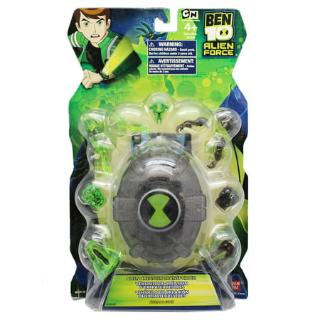 Ben 10 Alien Force Alien Creation Transporter: Alien X and Goop Ben 10 Alien Force