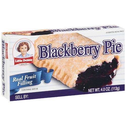 Little Debbie Blackberry Pie, 4 oz