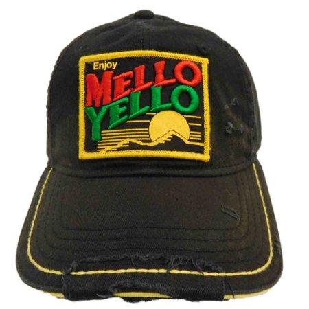 5350b15562c Coca-Cola - Black Mellow Yellow Soda Mens Hat Adjustable Coca Cola Snap  Back Baseball Cap - Walmart.com