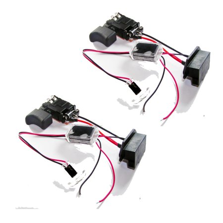 Ridgid R86006 Cordless Drill 2 Pack Replacement Switch 270001429 2PK