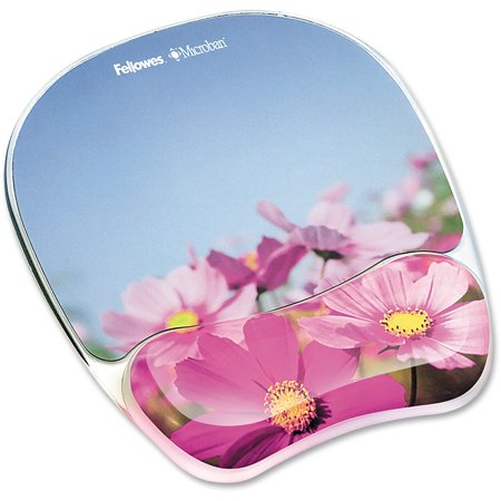 Fellowes, FEL9179001, Photo Gel Mouse Pad Wrist Rest with Microban®, 1,
