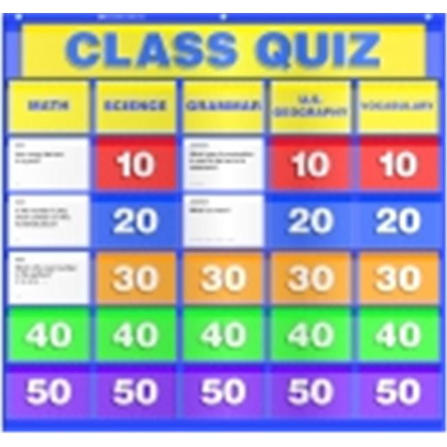 Harper Collins Publishers Class Quiz Pocket Chart