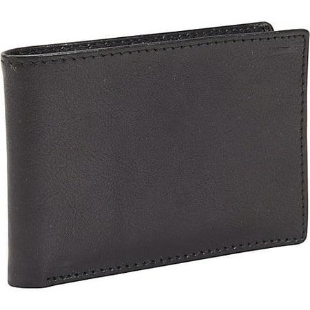 Mens Leather RFID Black Ops Defense Security Pocket Slimfold Bifold (Dopp Rfid Black Ops Front Pocket Slimfold Wallet)