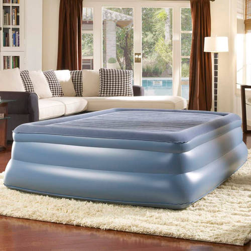 Simmons Beautyrest Sky Rise Raised Pillowtop Air Bed Mattress with Pump, Multiple Sizes
