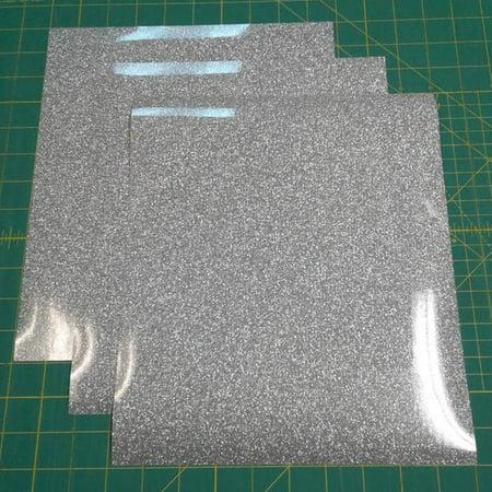 Silver Siser Glitter Three (3) 10