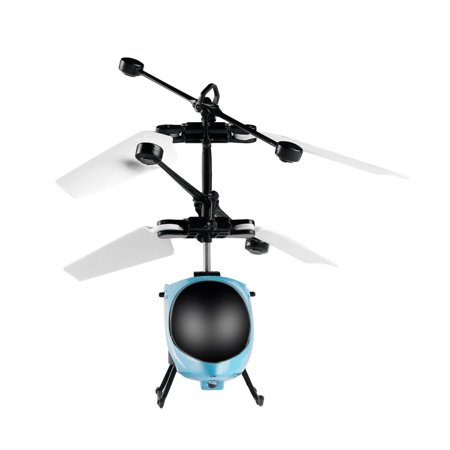 RC Flying Mini RC Infraed Induction Helicopter Aircraft Toys for