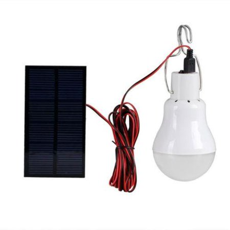Portable Bulb Outdoor & Indoor Solar Powered LED Lighting System Solar (Outdoor Solar Panels)