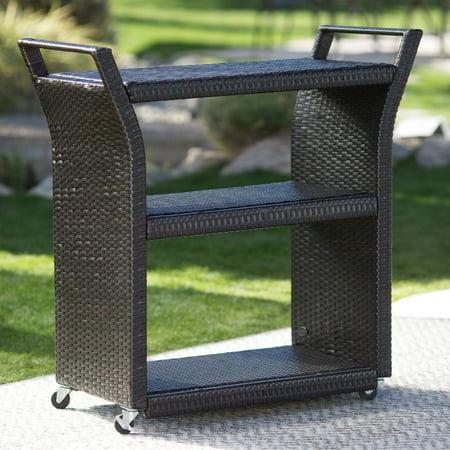 Image of Crosley Furniture Palm Harbor Outdoor Wicker Swivel Rocker Chair