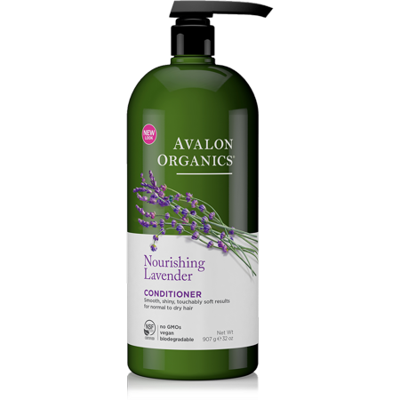 Avalon Organics Nourishing Lavender Conditioner, 32 Oz