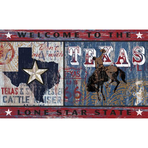 """Masterpiece """"Lone Star State"""" Doormat"""