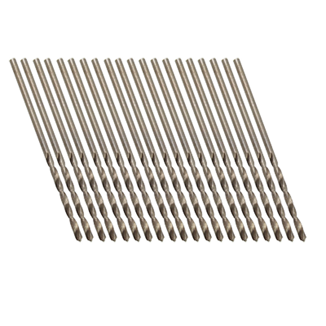 1.4mm Micro HSS Straight Shank Twist Drill Bit 20 Pcs