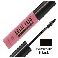 Maybelline Great Lash Waterproof Mascara, Brownish Black - 6 Ea, 3 Pack