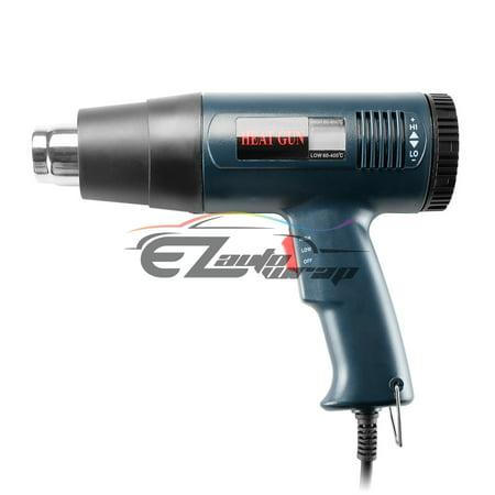 Heat Gun 1800W Heavy Duty Professional Adjustable Temperature with LCD (Adjustable Heat Gun)