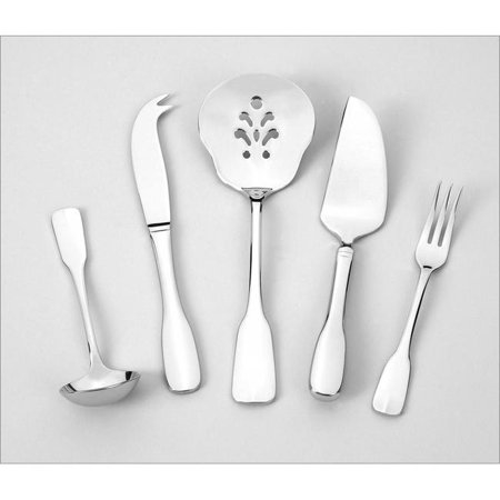 Alsace 5 Piece Serving Set - Heavyweight - 18-10 Stainless - Mirror Finish - image 1 de 1