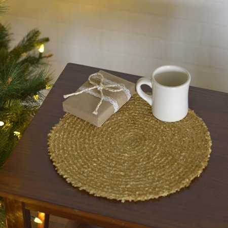 """Dyani Gold 13"""" Tablemat Set of 6 - image 1 of 2"""