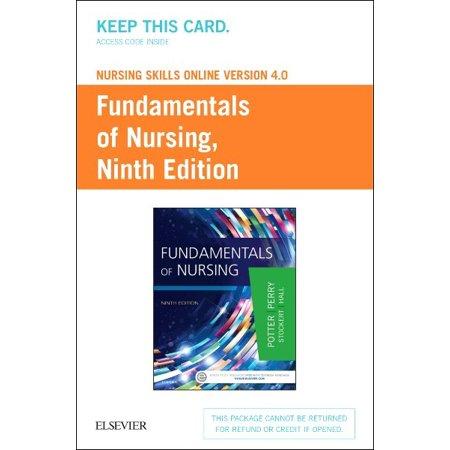 Fundamentals Of Nursing Nursing Skills Online Version 4 0 Access Code