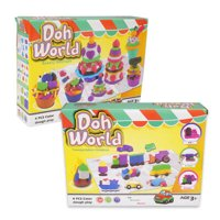 New 220011  Doh World Dough Play Set (12-Pack) Outdoor Play Cheap Wholesale Discount Bulk Toys And Games Outdoor Play X Others