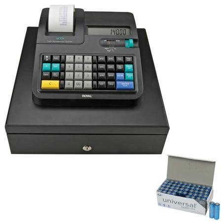 Royal 29475X 140DX Cash Register & UPG AA 50 Pack