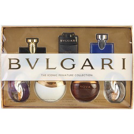 Bvlgari The Iconic Miniature Collection Perfume Gift set - 6Pc
