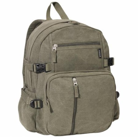 Everest  16.5 in. Cotton Canvas Backpack (Everest Canvas Backpack)