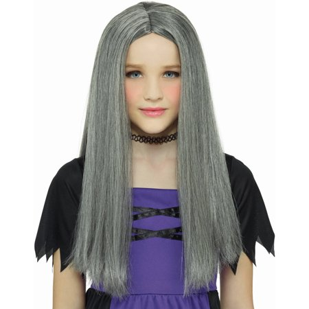Grey Witch Wig Halloween Costume Accessory](Witch Wigs Halloween)