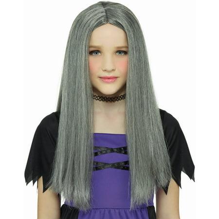 Grey Witch Wig Halloween Costume Accessory Walmart Com