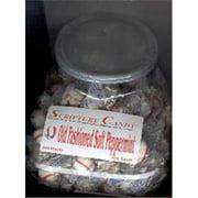 Candy-Scripture Soft Peppermint Counter Jar