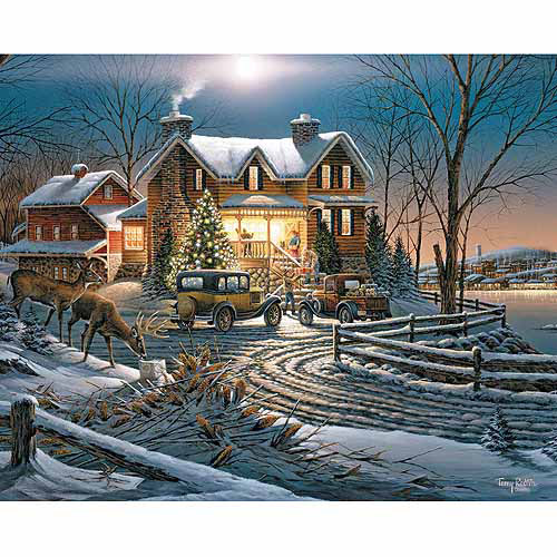 "White Mountain Puzzles Terry Redlin Jigsaw Puzzle, 1000pc, 24"" x 30"""